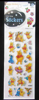 Wholesale Winnie Pooh Gifts - 100pcs cartoon 3D Foam stickers,Winnie Pooh style,gifts,birthday party decoration,MP3 stickers Gift