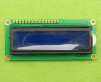 Wholesale Lcd 16x2 Green - New 1602 16x2 HD44780 Character LCD Display Module LCM blue blacklight