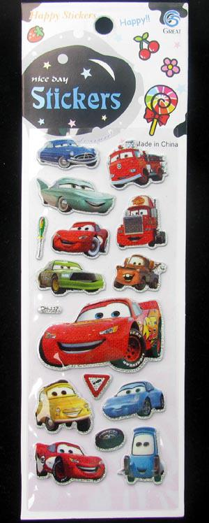 Kids 3D Foam Stickers Three-dimensional Multi Color Mix Cartoon crafts Home Decoration Sticke