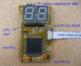 Wholesale Debug Post Card - 5 in 1 Laptop Mini PCI-E ELPC LPC Diagnostic Post Test Card,debug test,MiniPCIe MiniPCI LPC ELPC I2C