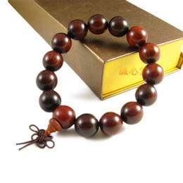Wholesale India Lobular Red Sandalwood - Opening of India the lobular red sandalwood prayer beads bracelet