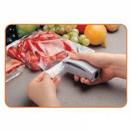 Wholesale Heat Wrap Bags - mini Super Sealer Hand Shrink Wrap Held Heat Seal Home Mini-sealing food bag sealing 360pcs lot