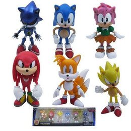 Free shipping Anime sonic Figure sonic super 2.4