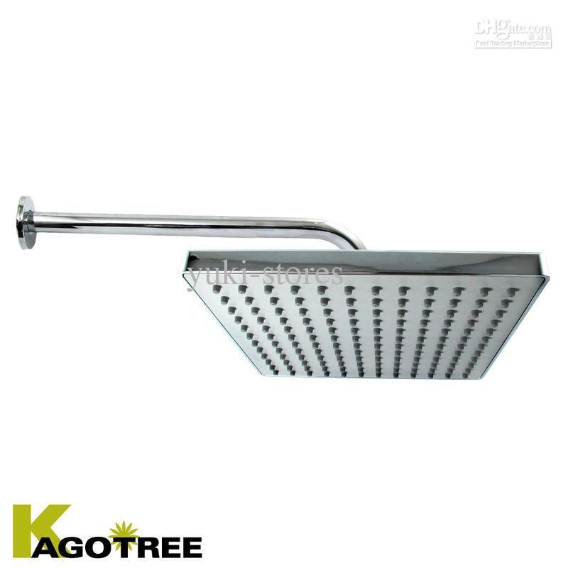 Best Waterfall Shower Head Bath Spray Wall Fixed Showerhead Square ...