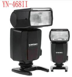 Wholesale Yongnuo Video Light - YONGNUO YN-468 YN468 II LED Video Lights Flash Speedlite for Nikon D7000 D3000 D5100 D5000 D300s