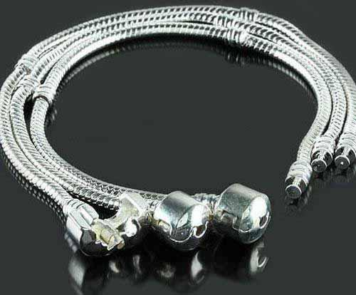 Fit European Beads Charm Bracelets 925 Sterling Silver Plated Bracelets  Traditional Gemmy Best Price Childrens Charm Bracelet Leather Charm  Bracelet