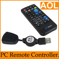 3 in 1 USB No USB PC all-purpose remote control 18 M infrared effective distance,perfect compatible with win7,1PCS