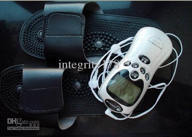 chinelo massageador para máquina de terapia digital, máquina de dezenas, dezenas massageador, massager do pé, chinelo.