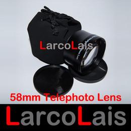 Wholesale Lens Tele - Best Quality 58mm Telephoto Lens 2.0x 58 mm 2x Optical Tele Lenses for Camera Camcorder