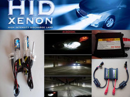 Wholesale Ballast For Lamp - Auto Xenon HID Conversion Kit DC H1 4300K Car Hid Xenon Kit Hid Blub Lamp HID Slim ballast for Benz