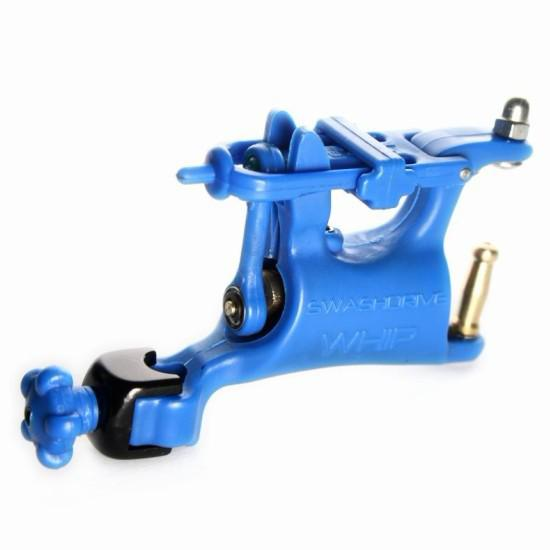 Popular Butterfly Rotary Tattoo Machine Blue Swashdrive WHIP For Tattoo Kits Slide Adjustment Top
