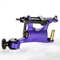 stille tattoo großhandel-neue Mode lila Super Swashdriver WHIP Schmetterling Rotary Tattoo Maschinengewehr Motor niedrigen Preis