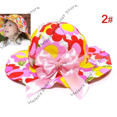 f2f42897e7f ... 2012 new baby flower bucket hat kids sunhat baby cotton cap baby topee  child spring  ...