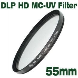 Multi Coated Uv Filter Canada - Emolux Digital UV HD DLP MC-UV 55mm Filter Broadband HD,Digital Low Profilter,Multi-Coat UV