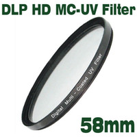 Emolux HD HD DLP MC-UV Filtro 58mm a banda larga HD, Digital Low Profilter, Filte UV a più strati