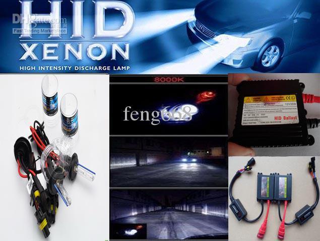 automobile headlight xenon hid conversion kit 12v dc 35w h7 4300k