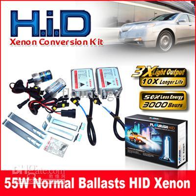 55 Вт нормальный балласты HID ксенон преобразования комплект подлинной AC A/C цифровой балласты H1 H3 H4 H7 9-16 в