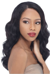 Wholesale 24 Inch Lace Wig 1b - 14-22 inches body wave 100% Brazilian virgin hair glueless cap full lace wigs (color#1B)