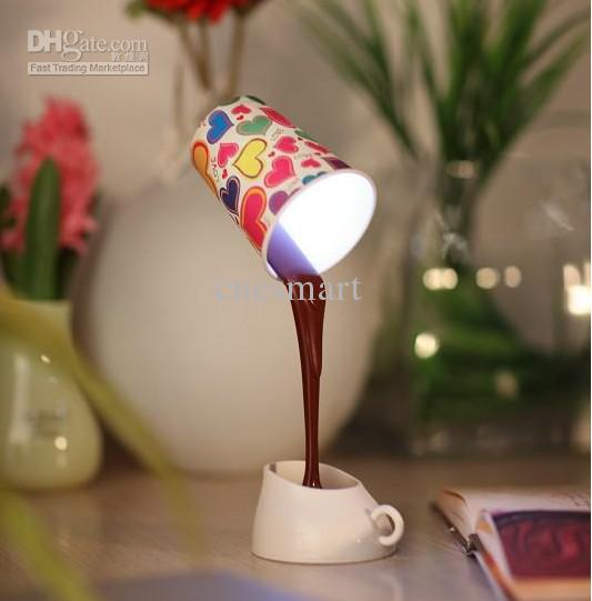 diy light table online cheap novelty diy coffee cup amp led light table lamp