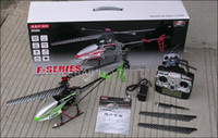 Wholesale F45 Helicopter - Free Shipping!!!!MJX F45 MJX Original 70cm 2.4G 4ch single blade rc helicopter LCD Controller