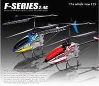 helicóptero 2.4ghz al por mayor-Precio de fábrica MJX F39 78CM Metal Gyro 2.4Ghz 4ch Rc helicóptero Modelo Juguetes LCD Radio