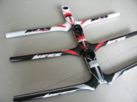 Wholesale Ness 3k Carbon - NESS 3K Full Fiber Carbon MTB Bike Handlebar Integrated Stem 31.8*90 100 110 120 130mm*580 600 620mm