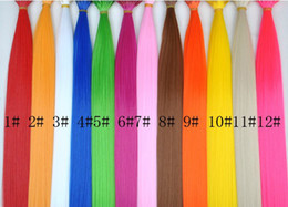 wholesale rooster feathers natural UK - 16 Inch Pure color Synthetic Grizzly Rooster Feather Hair Extension Feathers 300 pcs+ 300 beads