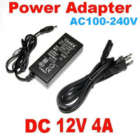 DC 12V 4A Power Adapter 48W HASF1204000 Charger AC 100V - 240V Power Supply tem UE / EUA / BS plug