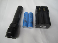 Compra Ha Condotto Il Cree Xm L-vendita all'ingrosso Ultrafire WF-502B CREE XM-L T6 5 Modalità 1000LM LED Flashlight + 18650 Charger + 18650battery