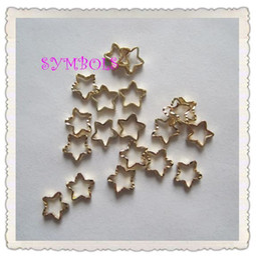 Wholesale Star Shape Nail Art - Free Shipping 3D 250pcs bag Star Shape Metal Nail Decoration Lovely Outlooking Nail Art Decorations