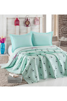 Eponj Home Natural Double Printed Pique Flamingo Mint HB0000...