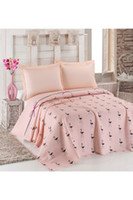Eponj Home Natural Double Printed Pike Flamingo Powder HB000...