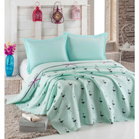 Eponj Home Natural Single Printed Pike Flamingo Mint HB00000...