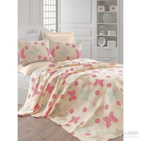 Eponj Home Natural Pique Printed Double Popillon A. Krem eaks...