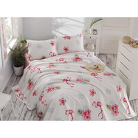 Eponj Home Natural Pike Printed Double Flamenco Cream HB0000...