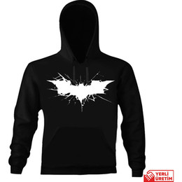 Sanat Tişört Batman Kapşonlu Sweatshirt HB00000ETLSP