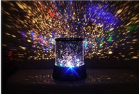 Wholesale Star Projector Sounds - New Dreamlike Colorful LED Sky Star Master Lights Constellation Projector Lamp Sound Asleep Night Bulb Christmas Decoration Free Shipping