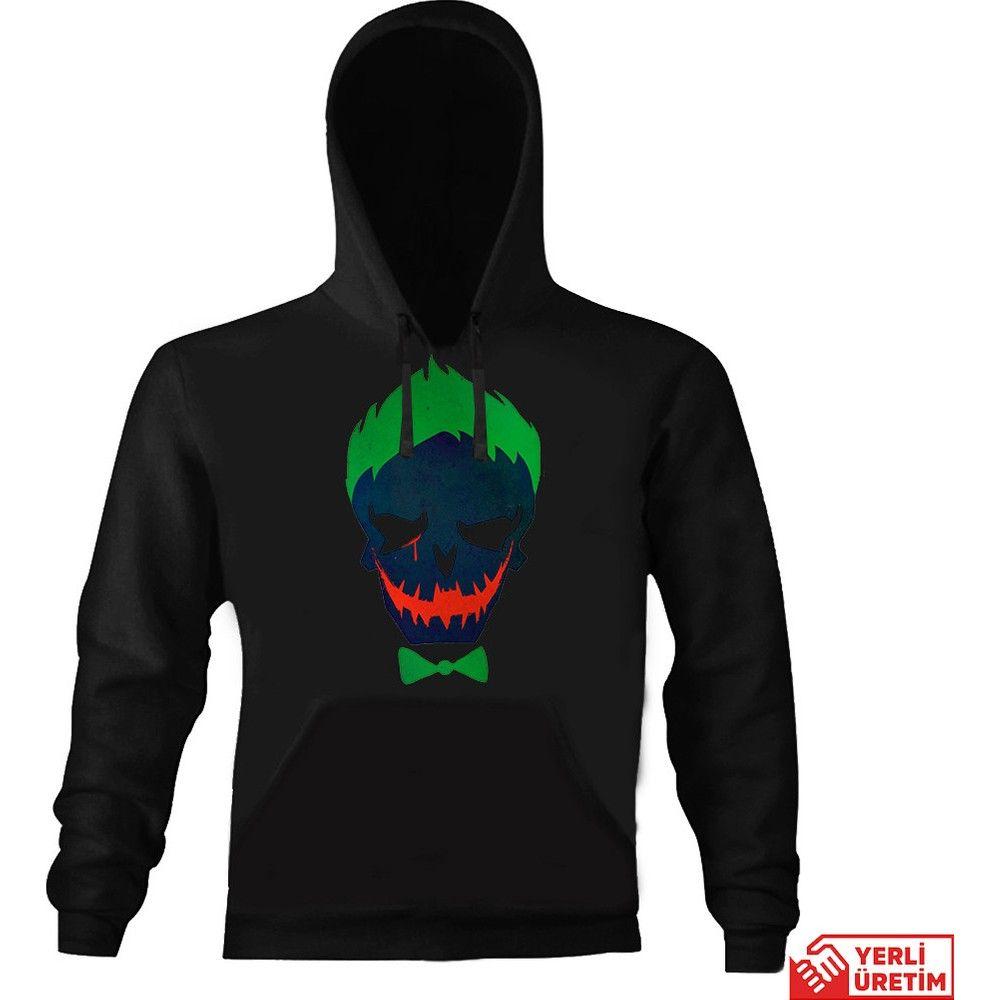 Art T-Shirt Batman Verde Joker moletom com capuz HB00000ETLS5