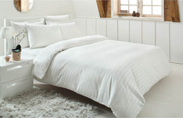 Özdilek Double Satin Duvet Cover Set Line White HB000002XDMW