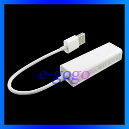 Wholesale Ethernet Connector Adapter Usb - Gigabit lan USB Ethernet Adapter Air network card for Ipad tablet PC MID laptop External Connector