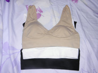 Wholesale 30sets Bra Set Genie And Seamless Pullover With Remove Pads Wide Shoulder Straps set