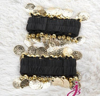 Wholesale Arm Belly Dancing - Belly Dance Arm Wear BELLY DANCE ARM HAND CUFF BRACELET Belly dance Accessory F892