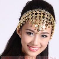 Wholesale Dancing Women Ornament - Luxurious Belly Dance Accessories Headwear Ornaments Dancing Decorations Pendant