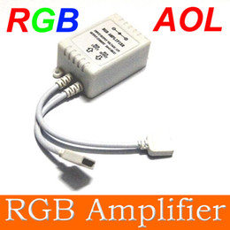 Wholesale Dc Unlimited - RGB Amplifier RGB LED Strip light amplifier unlimited Small power amplifier RGB controller