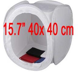 "Wholesale Photo Tent Box - 16"" 40cm PHOTO STUDIO TENT LIGHT SHOOTING SOFT CUBE BOX- 4 backgrounds"
