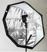 Wholesale Speedlite Umbrella - Umbrella Octagon Softbox Brolly Reflector Speedlite Studio 80cm from shinystore88