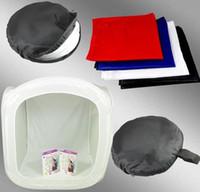 "Wholesale Hand Painted Muslin - 32"" 80cm Photo Studio Softbox Light Tent Cube Soft Box"