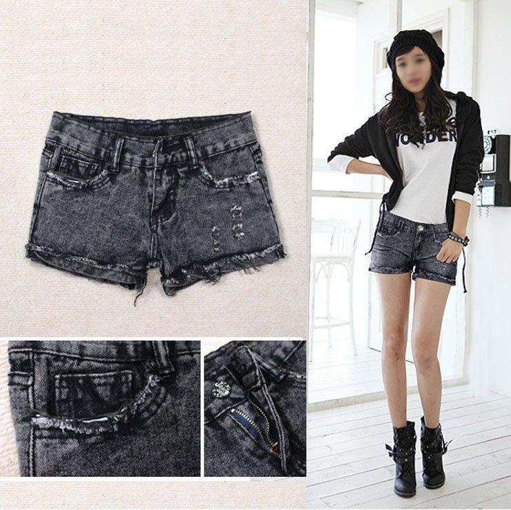 Casual Jeans Pants Shorts, Women Short Jeans Summer Fashion Women ...