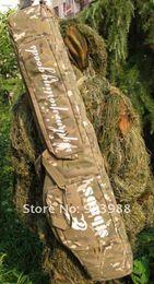 Wholesale Double Rifle Carry Case - Newest tactical carry case 1.2m rifle gun slip double bag cp Camouflage