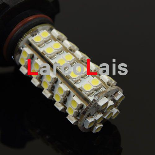 68 LED H10 SMD 1210 Głowica samochodowa Żarówka przeciwmgielna Biały 68-LED 3528 12 V Lights Auto Lights 18led